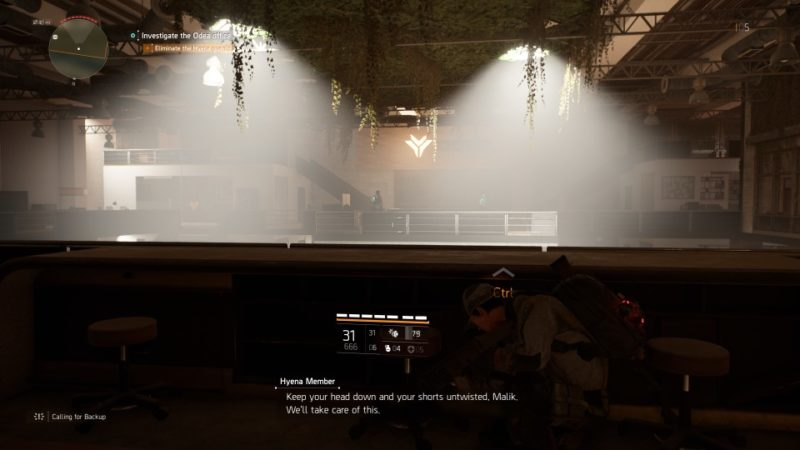 the division 2 - odea tech office tips