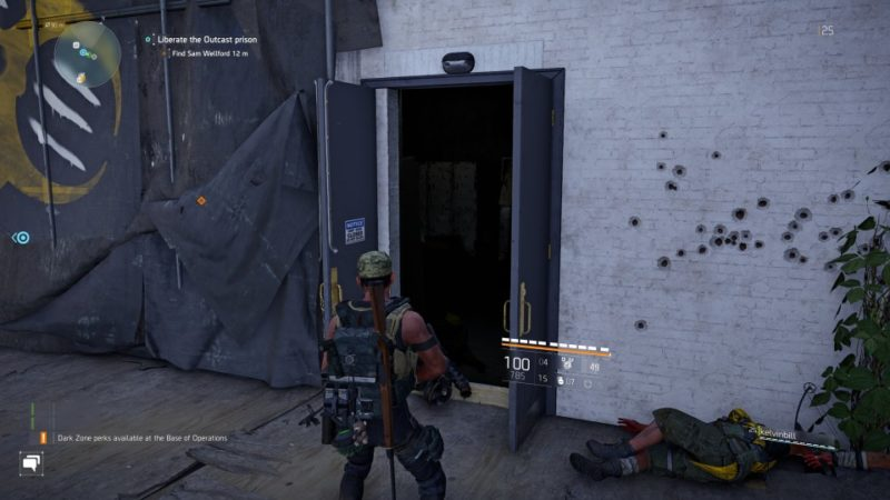 the division 2 - outcast work camp mission