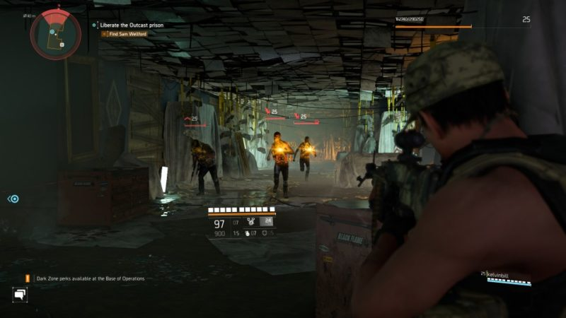 the division 2 - outcast work camp mission walkthrough