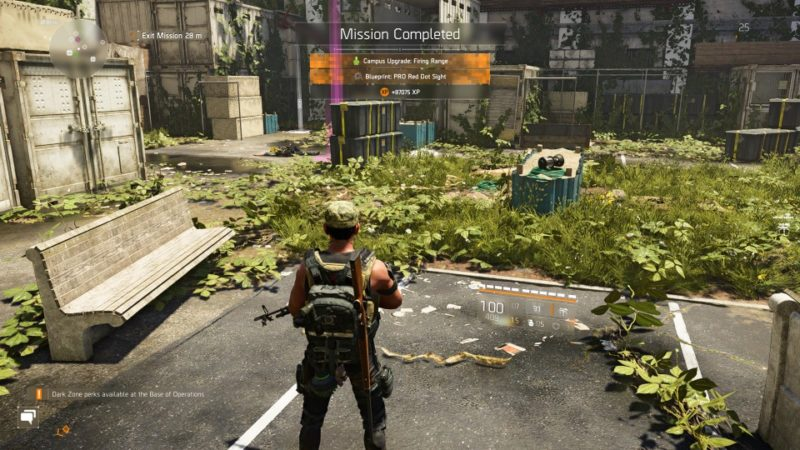 the division 2 - outcast work camp tips