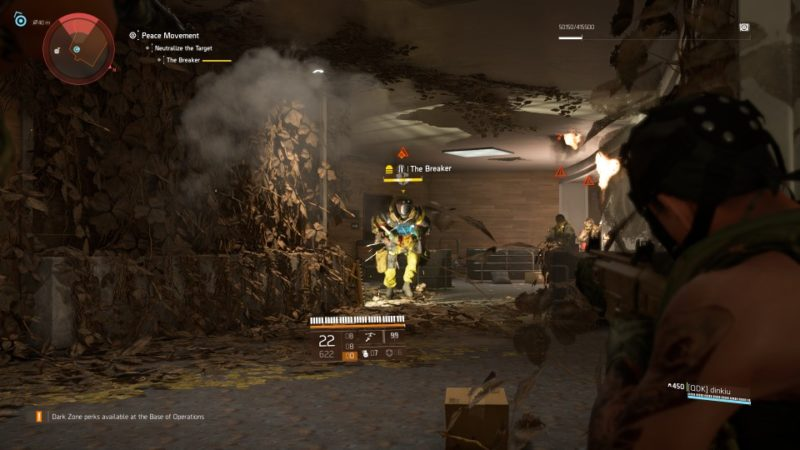 the division 2 - peace movement bounty location