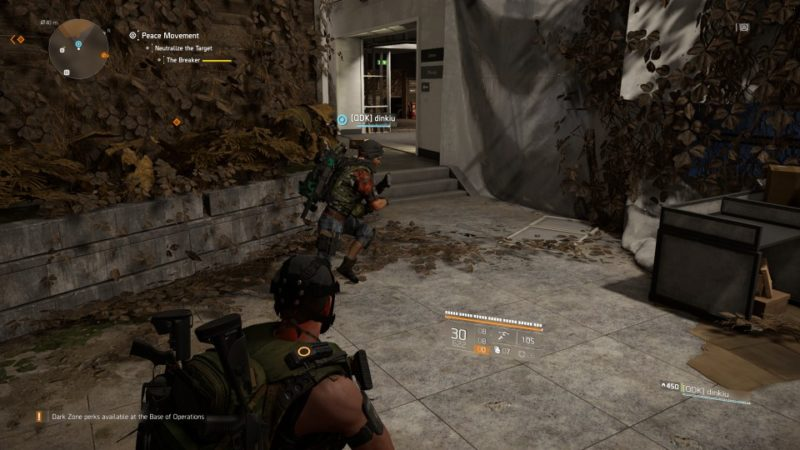the division 2 - peace movement bounty mission
