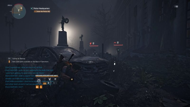 the division 2 - police headquarters guide