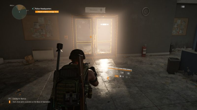 the division 2 - police headquarters mission