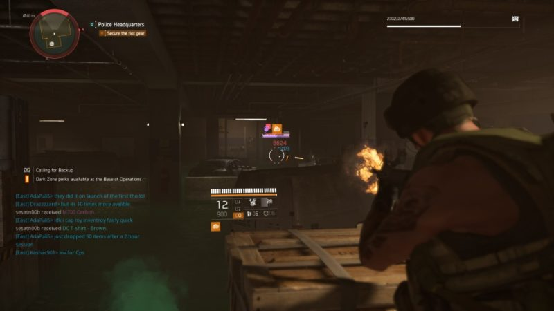 the division 2 - police headquarters tips