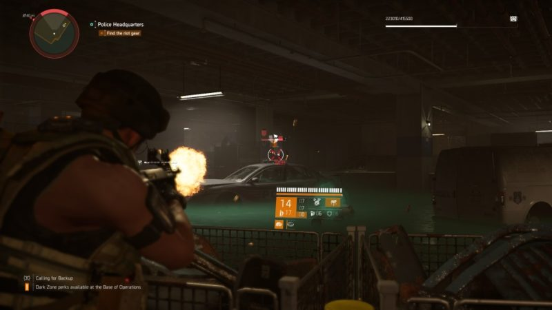 the division 2 - police headquarters wiki