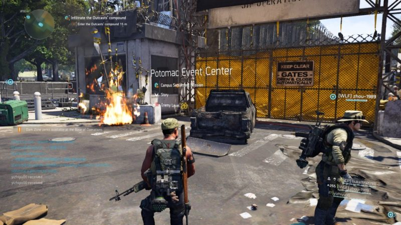 the division 2 - potomac event center guide