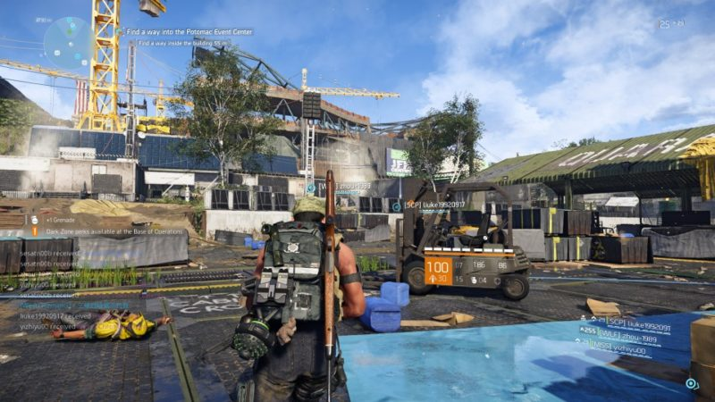 the division 2 - potomac event center walkthrough and guide