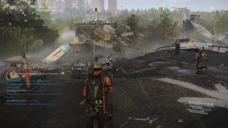 the division 2 - roosevelt island guide wiki