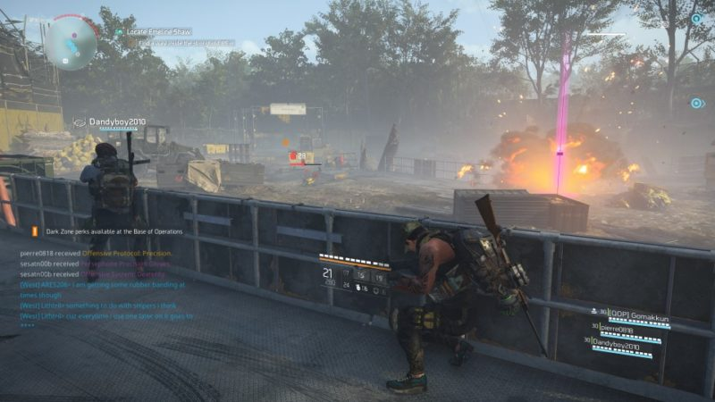 the division 2 - roosevelt island mission