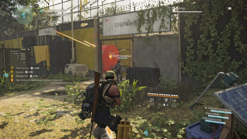 the division 2 - roosevelt island mission objectives