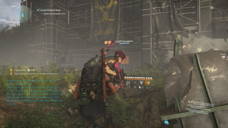 the division 2 - roosevelt island quest