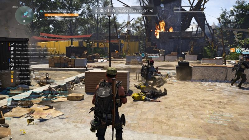 the division 2 - roosevelt island shoot at oil tanker