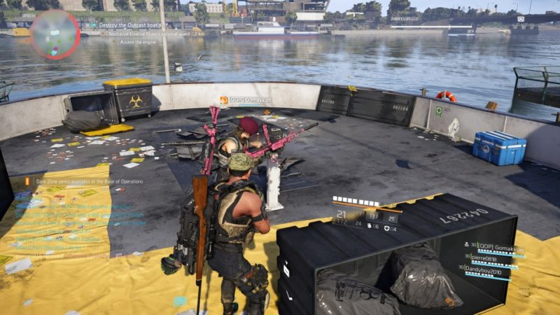 the division 2 - roosevelt island stronghold mission walkthrough