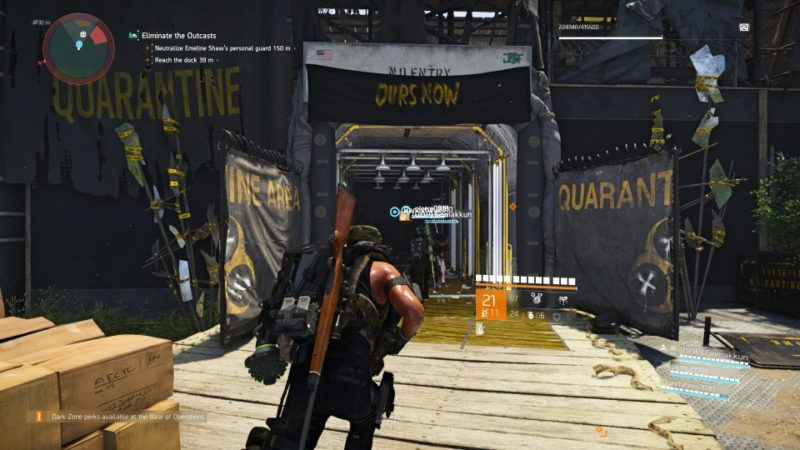 the division 2 - roosevelt island tips and walkthrough