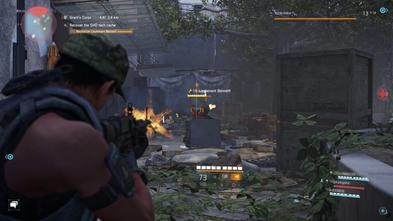 the division 2 - shd tech beacon mission walkthrough
