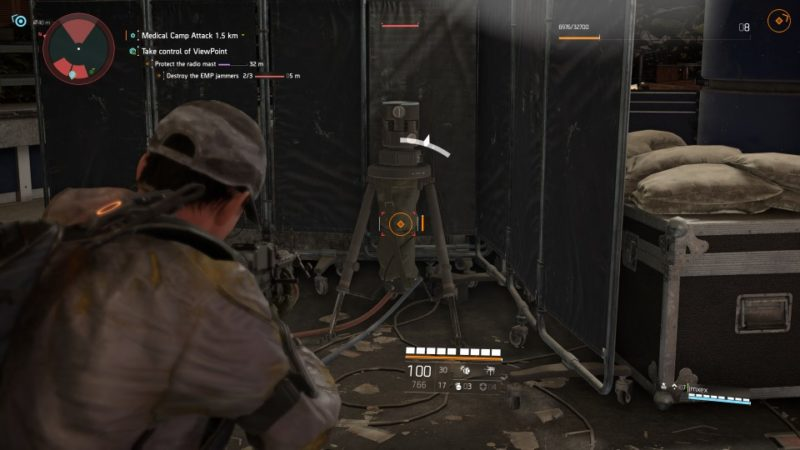 the division 2 - viewpoint museum destroy all 3 emps