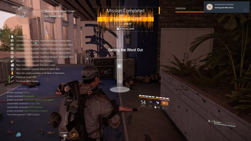 the division 2 - viewpoint museum guide wiki tips