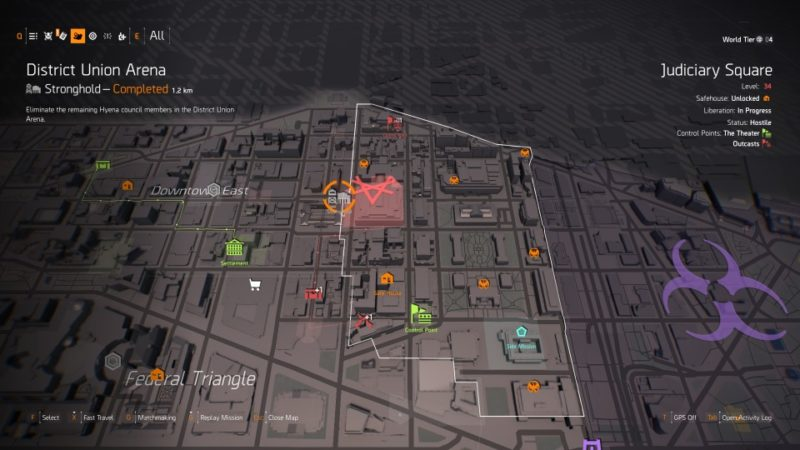 How To Change World Tiers - The Division 2 Wiki And Guide