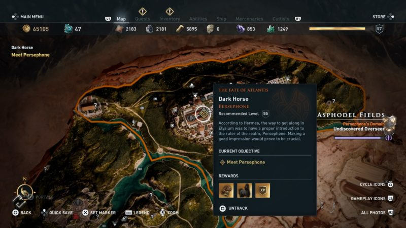 Dark Horse: Assassin's Creed Odyssey Walkthrough - Ordinary Reviews