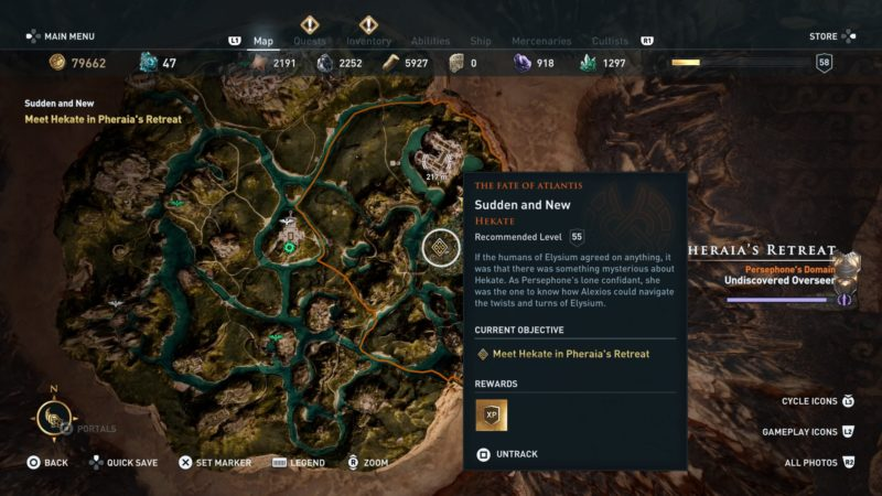 Sudden And New: Assassin's Creed Odyssey Walkthrough