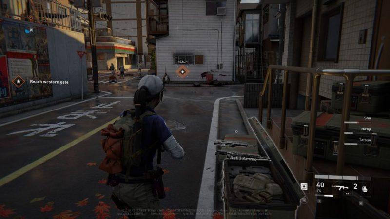 objectives - world war z - tokyo - setting sun
