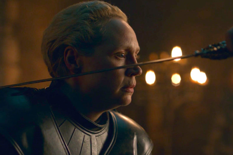 ser brienne of tarth - s8e2 got