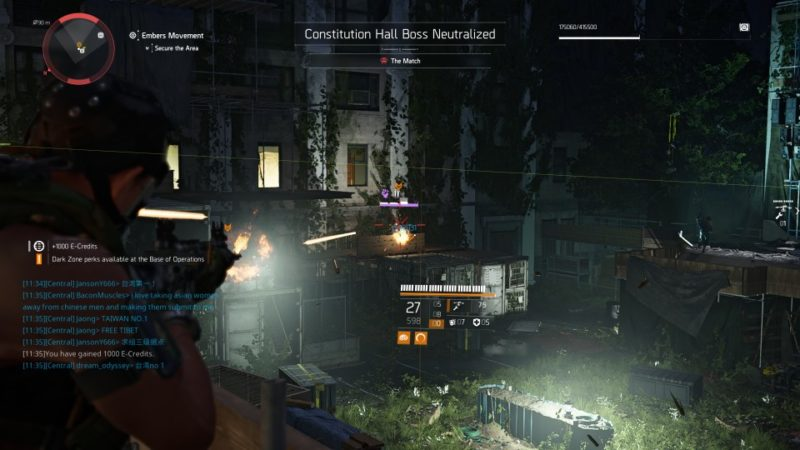 the division 2 - embers movement walkthrough