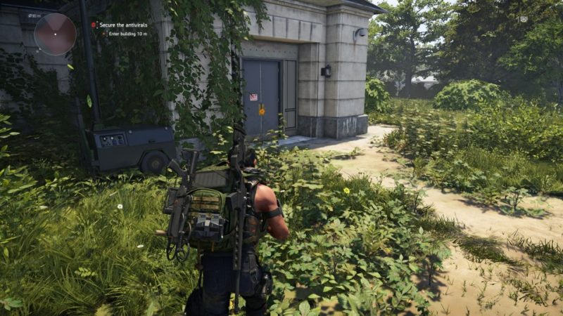 the division 2 - gatehouse facility quest