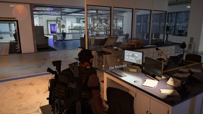 the division 2 - gatehouse facility wiki