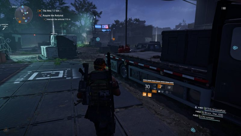 the division 2 - tidal basin disable turret defense