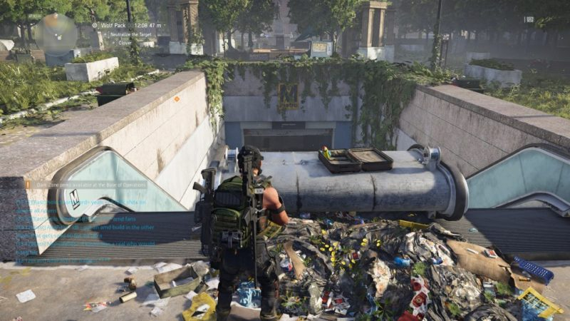 the division 2 - wolf pack bounty location