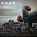 world war z - jerusalem - dead sea stroll