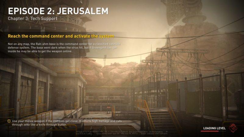 world war z - jerusalem - tech support