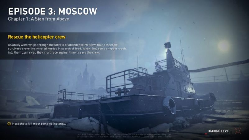 world war z - moscow - a sign from above