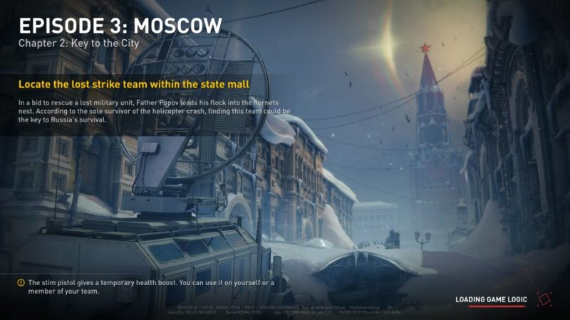 world war z - moscow - key to the city
