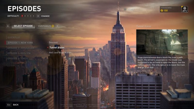 world war z - new york - tunnel vision
