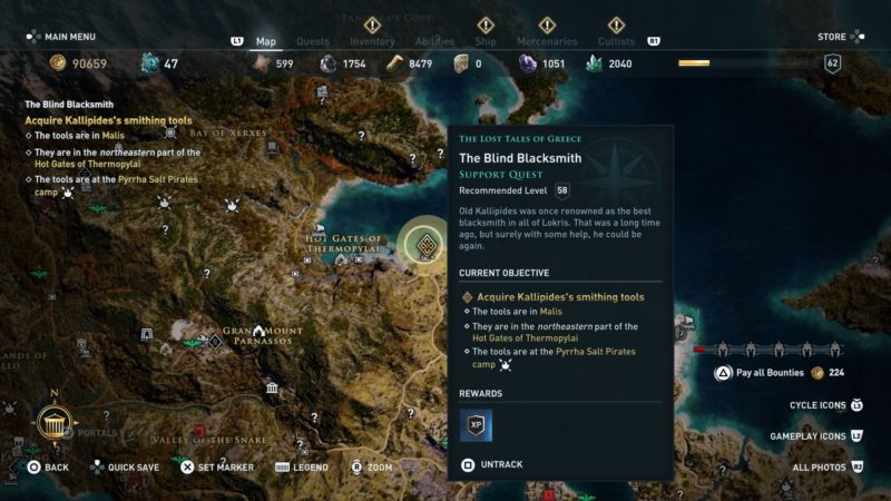 ac-odyssey-the-blind-blacksmith-walkthrough