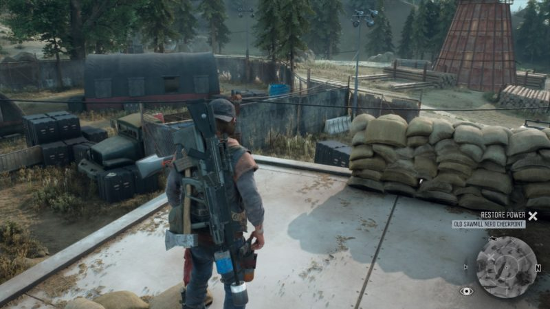 days-gone-old-sawmill-nero-checkpoint-mission-guide