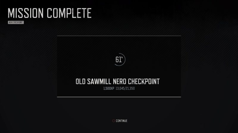 days-gone-old-sawmill-nero-checkpoint-tips