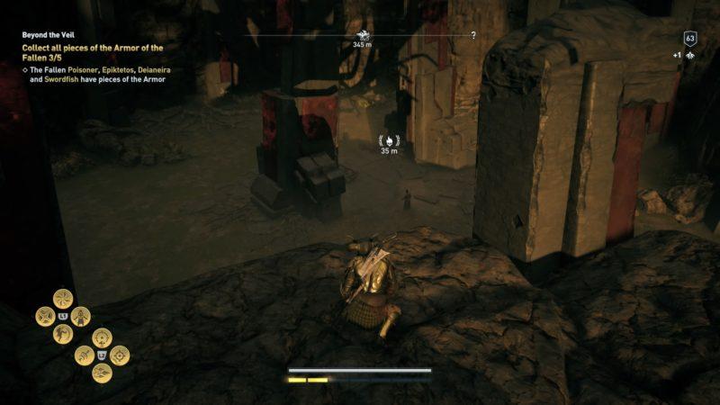 armor of the fallen