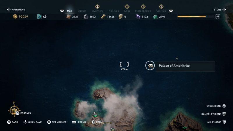 محلی که کشتی غرقشده رو پیدا میکنید