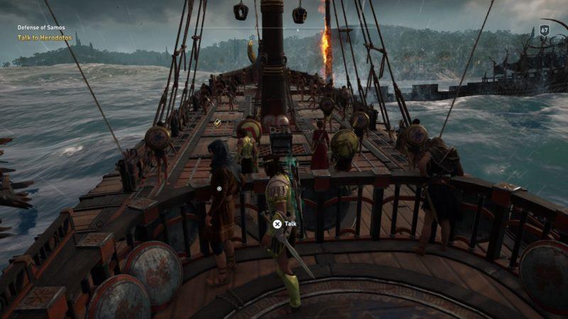 Defense Of Samos Assassin S Creed Odyssey Walkthrough