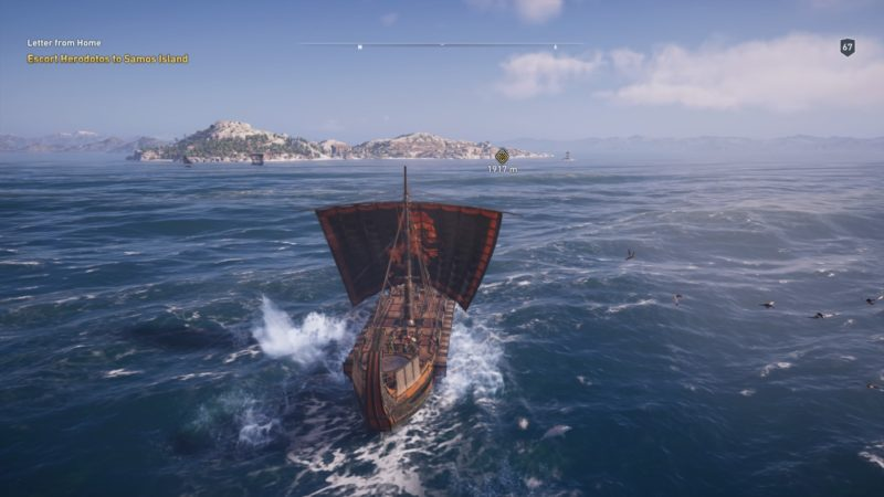 Letter From Home Assassin S Creed Odyssey Walkthrough