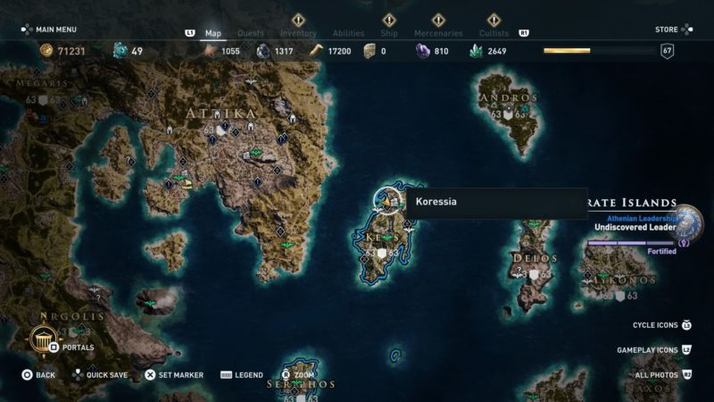 Assassin S Creed Odyssey Smoke Signal Riddle Location