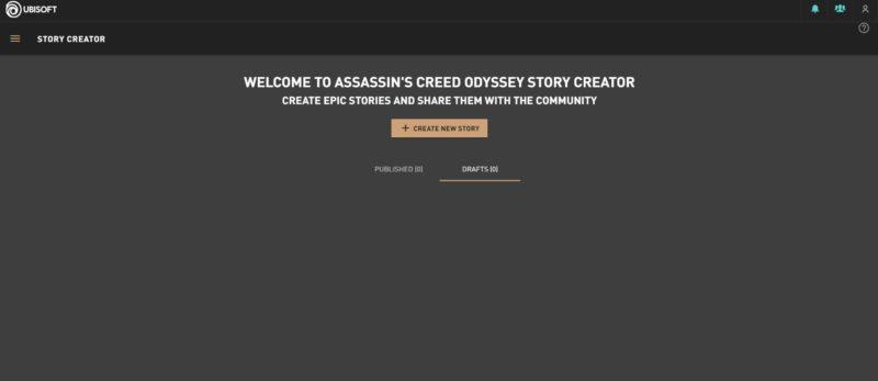 ac odyssey story creator mode