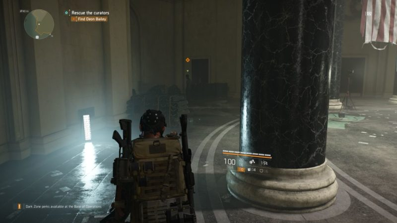 division 2 - missing curators mission guide
