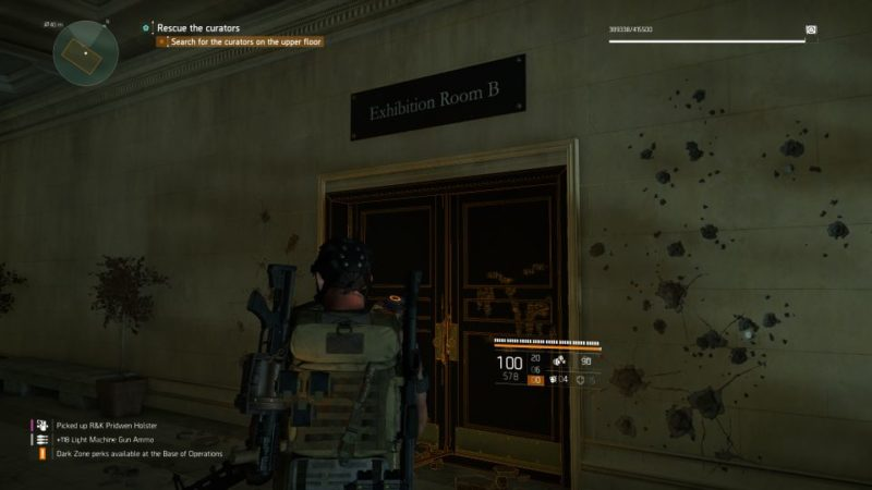 division 2 - missing curators quest