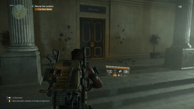 division 2 - missing curators quest wiki