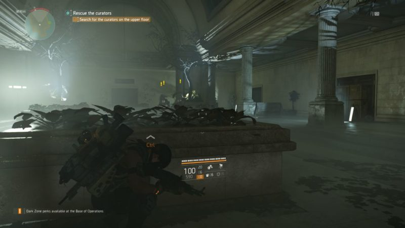 division 2 - missing curators side quest